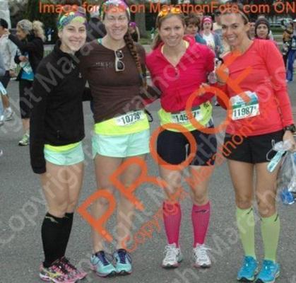 pre-race photo sesh.. thanks marathon foot