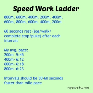 speedworkladder